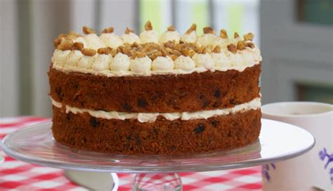 mary berry sugar  carrot cake recipe   great