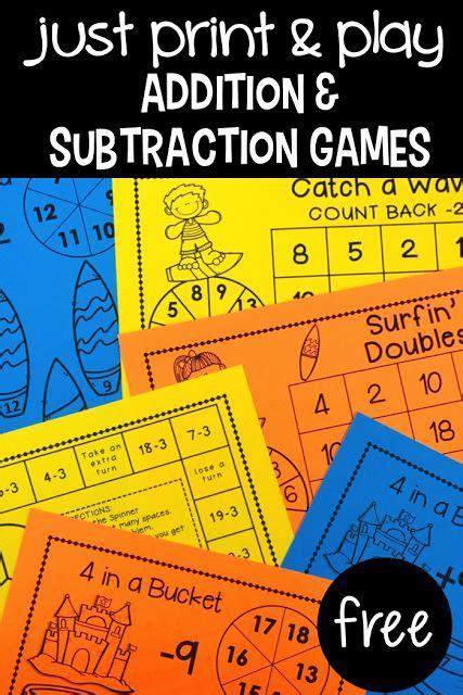 Best 25+ 2nd Grade Math Games Ideas On Pinterest  Math Addition Games, Grade 3 Math And Fun