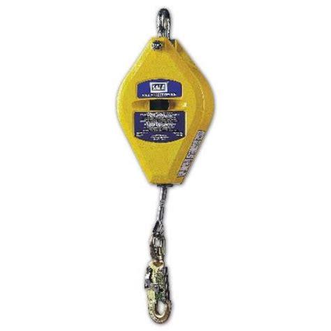 locking lateral file sala safety block lifeline fall arrest model 150 300lbs