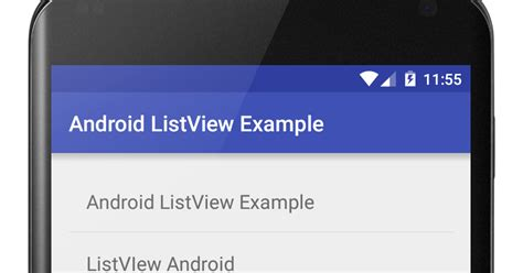 android listview tutorial android listview exle viral android tutorials