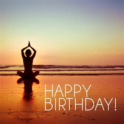 Birthday Happy Yoga Quotes