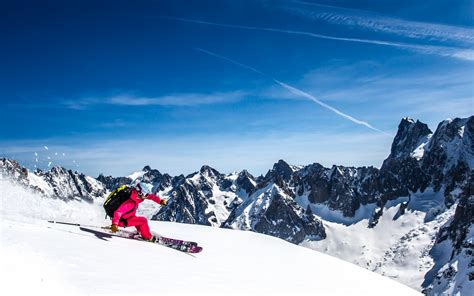 wallpaper skiing snow mountains  sports