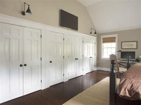 Bedroom Wall Closet by Bedroom Tv Closet Doors Cottage Bedroom