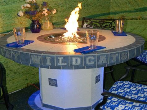 build gas fire table outdoor how to build outdoor propane fire pit round