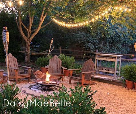Backyard Fire Pit  Daisymaebelle Daisymaebelle