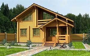 Chalet Bois Habitable Clef En Main : chalet en bois habitable 100m2 kit chalet maison en bois ~ Melissatoandfro.com Idées de Décoration