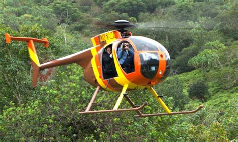 magnum helicopters  doors  hawaii helicopter
