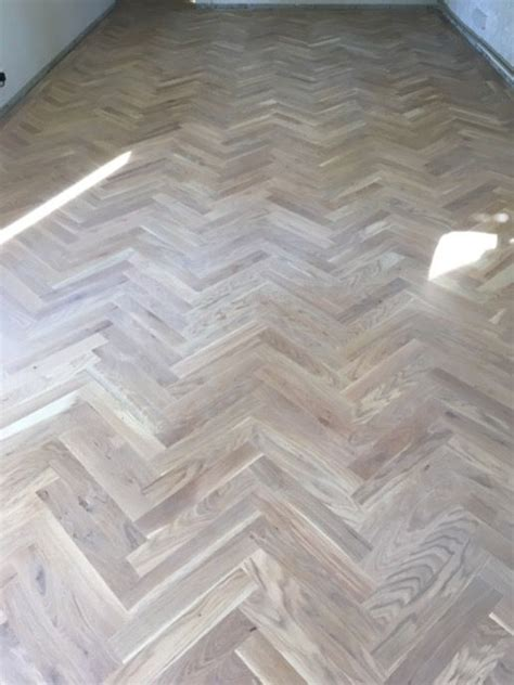 reclaimed   white wash parquet floors images  pinterest flooring floors