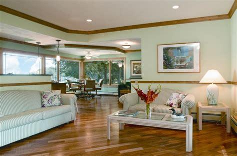 lake kegonsa tri level remodel traditional living room