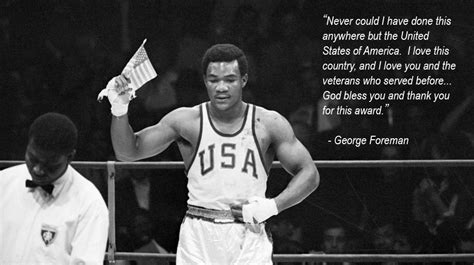 george foreman preacher puncher patriot  american