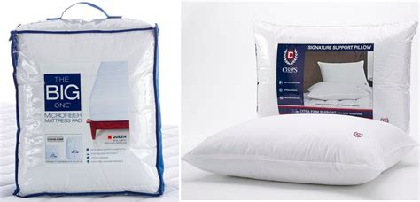 The Big One Mattress Topper & Two Chaps Pillows