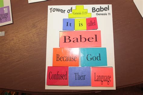 on bible tower of babel 790 | 016