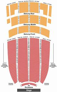 Fox Theater Oakland Seating Chart Paramount Theatre Seating Chart Maps Oakland