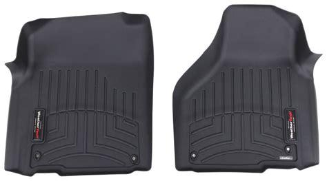 floor mats ram 2500 2016 ram 2500 weathertech front auto floor mats black
