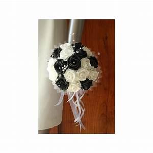 Bouquet De La Mariée : bouquet mariee rond couleur noir et blanc avec des ~ Melissatoandfro.com Idées de Décoration