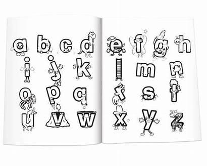 Phonics Coloring Preschool Meet Sounds Letter Pages
