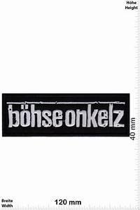 Böhse Onkelz Aufkleber : b hse onkelz patch back patches patch keychains ~ Jslefanu.com Haus und Dekorationen