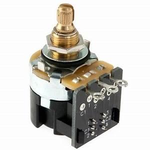 Cts 500k Audio Taper Push  Pull Guitar Pot