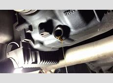 BMW Rear axle oil change E60 520 i [2003 E60 M54] 75W