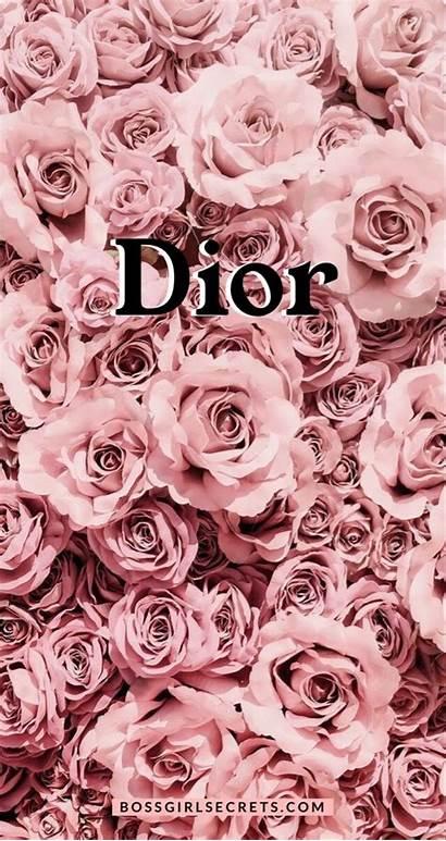 Dior Fond Ecran Rose Iphone Gold Phone