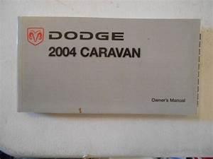 2004 Dodge Caravan Factory Original Complete Owners Manual