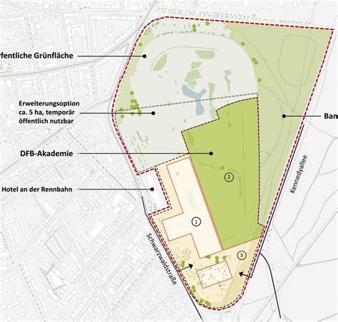 Dfb Akademie In Frankfurt Am by Neubau Dfb Akademie Auf Dem Galopprennbahn Areal 2019
