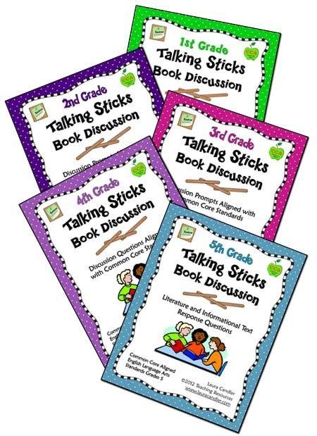 talkings sticks book discussions aligned  ccss ela