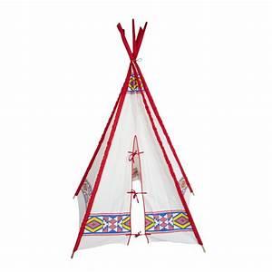 Tipi Indien Enfant : tipi d 39 indien buffalo multicolore smallable toys jeux jouets loisirs enfant smallable ~ Melissatoandfro.com Idées de Décoration