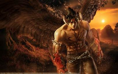 Tekken Jin Devil Wallpapers Kazama Background Desktop