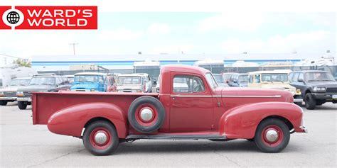obscure pickup trucks  vintage design classics