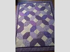 Purple Hugs and Kiss's Quilt