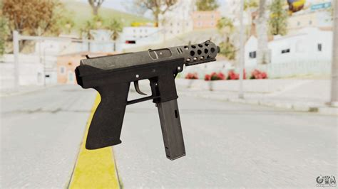 Tec-9 Hd For Gta San Andreas