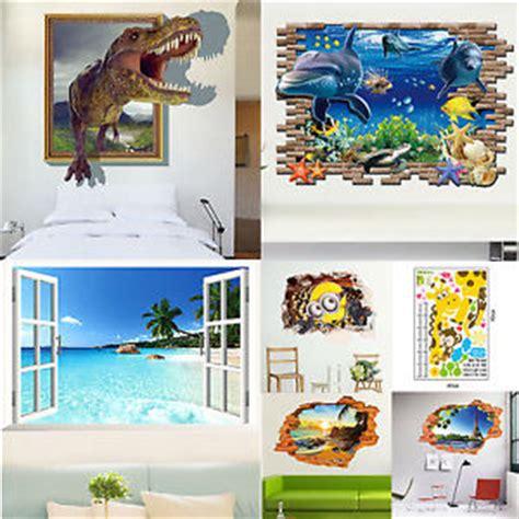 Wandbilder Zum Aufkleben by Dinosaurier Tapete Wandsticker Aufkleber Kinderzimmer