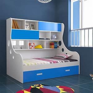 Unicos, Arthur, I, Expandable, Kids, Single, Storage, Bed