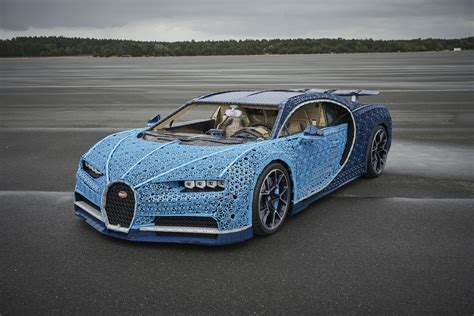 lego built  drivable bugatti chiron    million