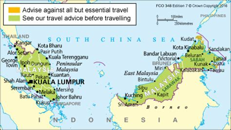 entry requirements malaysia travel advice govuk