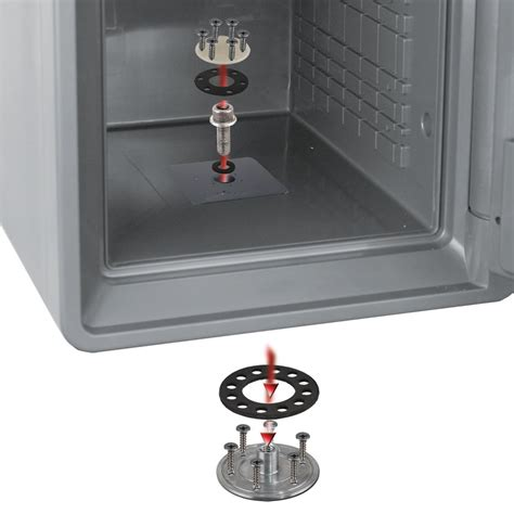 Floor Mounted Fireproof Safe by Bolt Safe Waterproof Fireproof 94 Quot Cu Storage