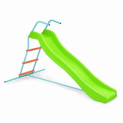 Fun Wavy Slide Swing Pure Plastic Playground