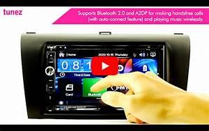 Toyota Corolla Verso Car Dvd Mp3 Player Head Unit Radio Stereo Fascia Kit Mp4 Cd