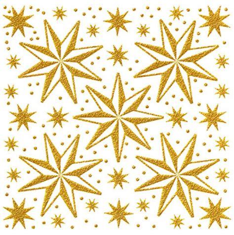 Fensterdeko Weihnachten Gold fensterbilder sterne gold