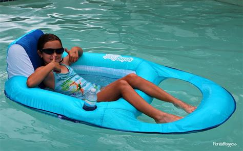 reclining pool float relax and refresh with swimways float recliner