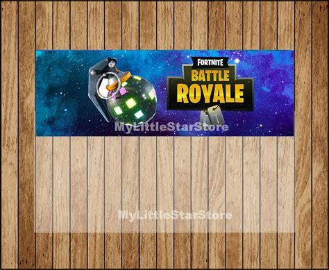 fortnite birthday fortnite favors boogie bomb printable