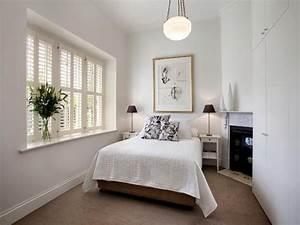 Romantic bedroom design idea with carpet & fireplace using
