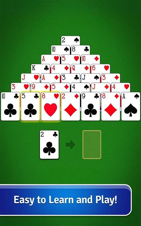 pyramid solitaire  android    software