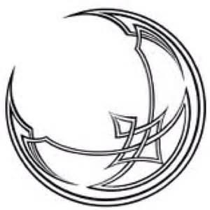 Celtic Crescent Moon