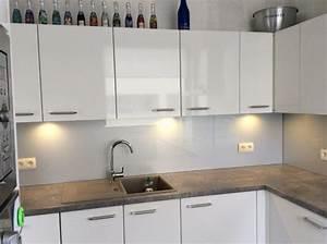 Crédence Cuisine En Verre : credence cuisine verre ~ Premium-room.com Idées de Décoration