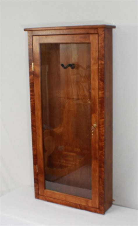 Electric Guitar wall mounted display case   aftcra