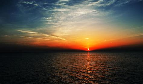 sunrise  lake michigan shutterbug