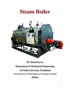 Pdf  Steam Boiler
