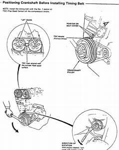 Diagrama Para Poner A Punto O A Tiempo Uh Honda Civic Si